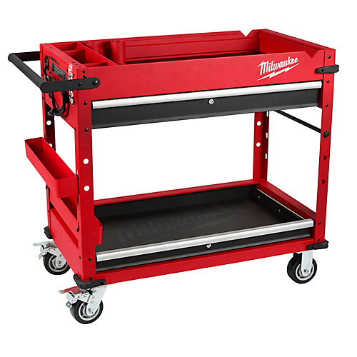 40 inch Steel Work Cart