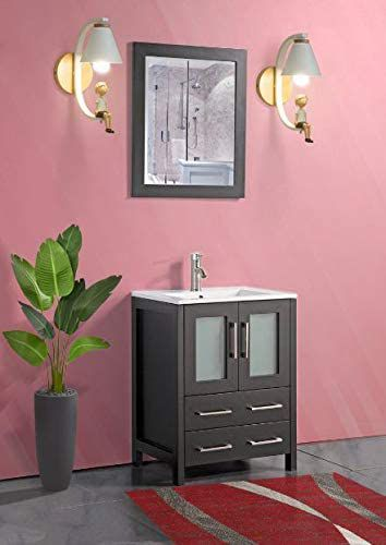 Vanity Art Brescia 24 inch Bathroom Vanity in Espresso ...