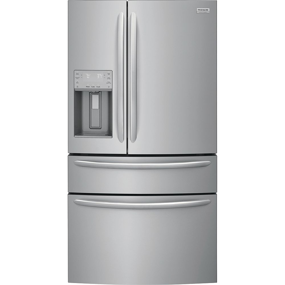 Frigidaire Gallery 36-inch W 21.8 cu. ft. 4-Door French Door Refrigerator FG4H2272UF