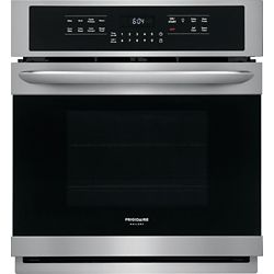Frigidaire Gallery 27-inch Single Electric Wall Oven Self-Cleaning with Convection in Stainless Steel