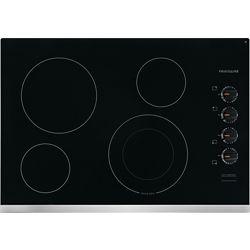 Frigidaire Table de cuisson électrique de 30 po à 4 éléments, y compris l'élément d'ébullition rapide en acier inoxydable