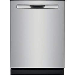 Frigidaire Gallery 24-inch Tall Tub Built-in Dishwasher with Dual OrbitClean Spray Arm in Smudge Proof Stainless Steel