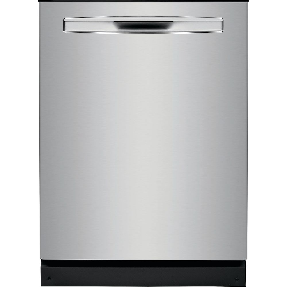 Frigidaire Gallery 24-inch Tall Tub Built-in Dishwasher with Dual OrbitClean Spray Arm in Smudge Proof Stainless Steel - ENERGY STAR®