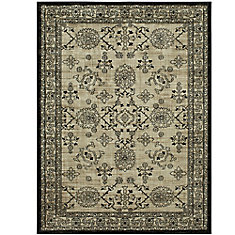 Hiram Oyster 8 ft. x 10 ft. Woven Indoor Area Rug