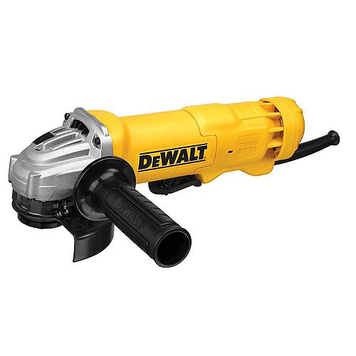 DEWALT Grinder 4-1/2-inch 11,000 rpm 11 Amp (No Lock on Switch)