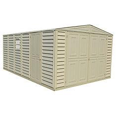 Woodbridge 10.5 ft. x 15.5 ft. fire retardant vinyl resin garage