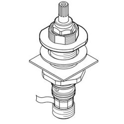 Pfister Pfister 900-0060 Valve End body Assembly (Hot) for Pfister Faucets