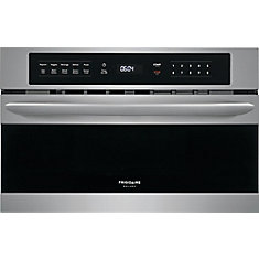 30-inch W 1.6 cu. ft. Built-In Microwave with Drop Down Door in Stainless Steel
