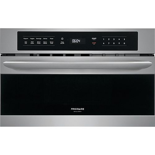 Frigidaire Gallery 30-inch W 1.6 cu. ft. Built-In Microwave with Drop Down Door in Stainless Steel
