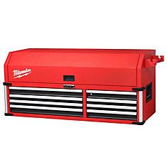 Coffre de rangement industriel de grande capacité en acier à 8 tiroirs de 142,2 cm