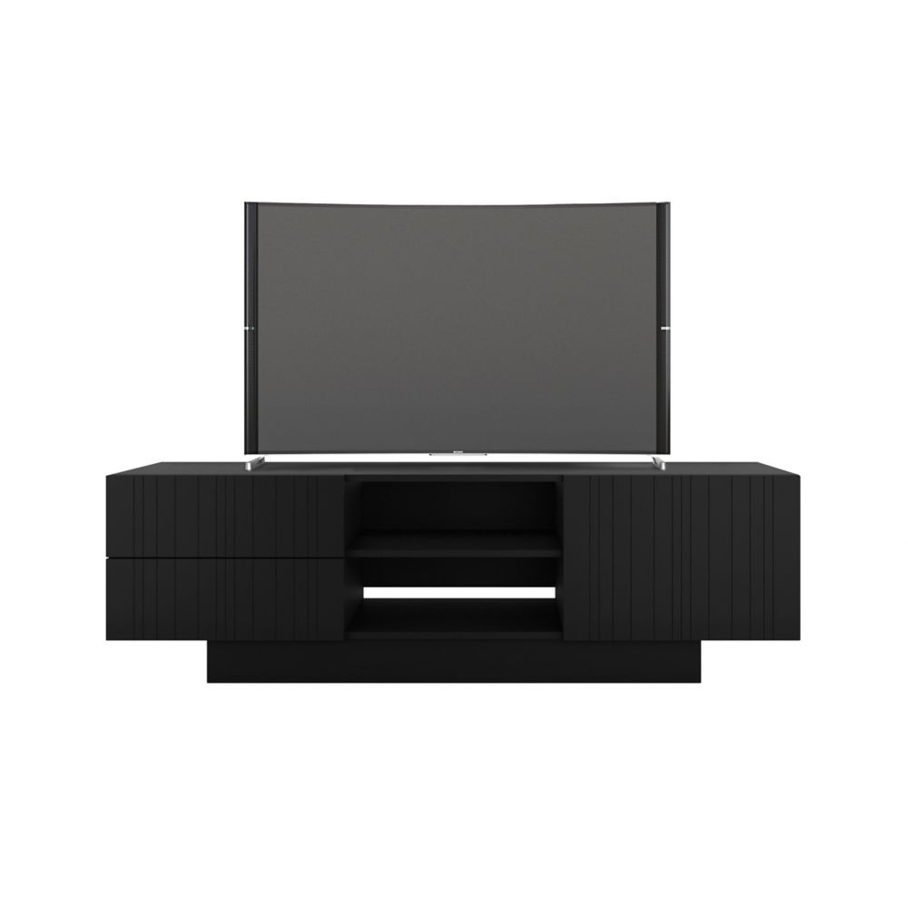 Nexera Galleri 60-inch TV Stand, Black
