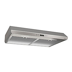 Broan 30 inch 400 CFM Under cabinet range hood in stainless steel
