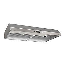Broan 36 inch 400 CFM Under cabinet range hood in stainless steel