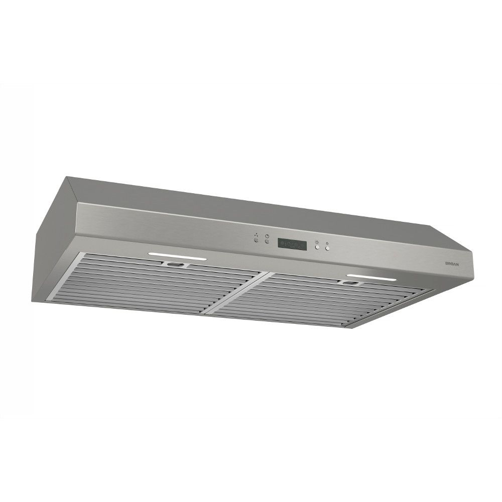Broan 30 inch 600 CFM Under cabinet range hood in stainless steel