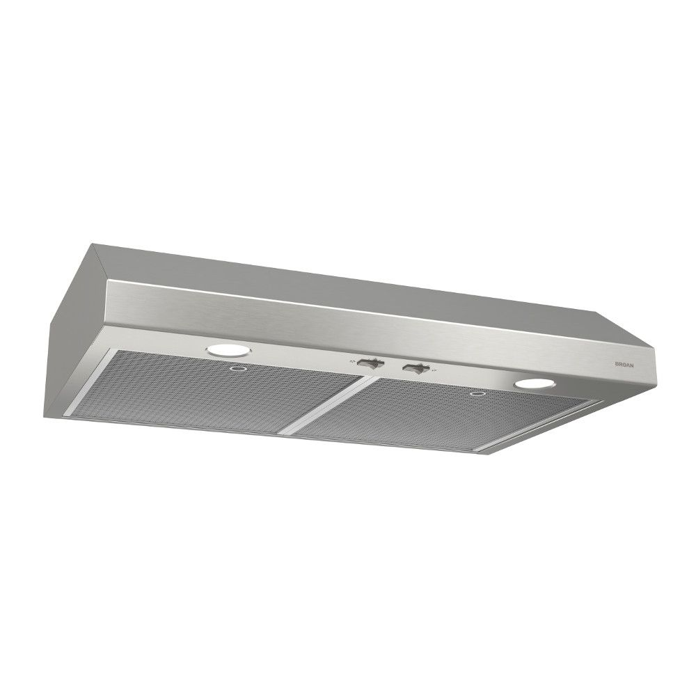 Broan 24 inch 250 CFM Under cabinet range hood in stainless steel