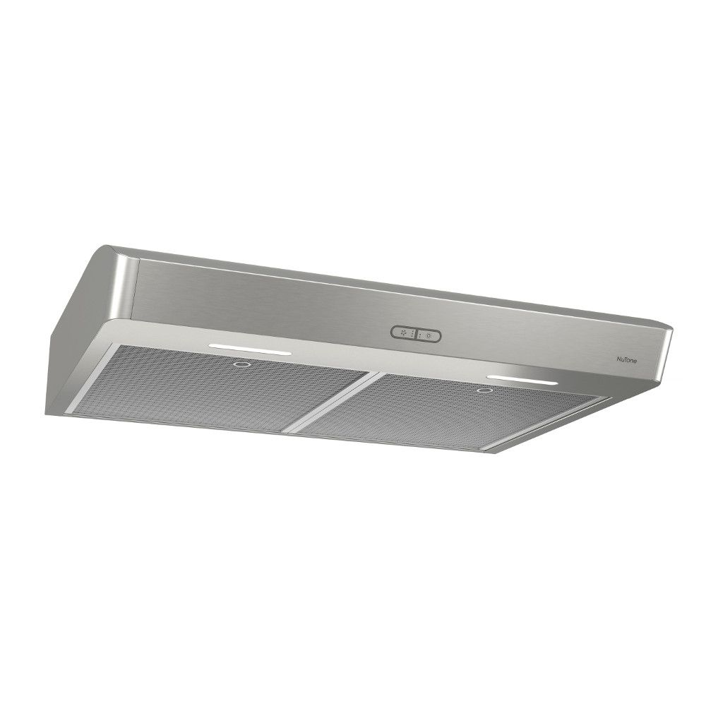 Broan 30 inch 300 CFM Under cabinet range hood in stainless steel