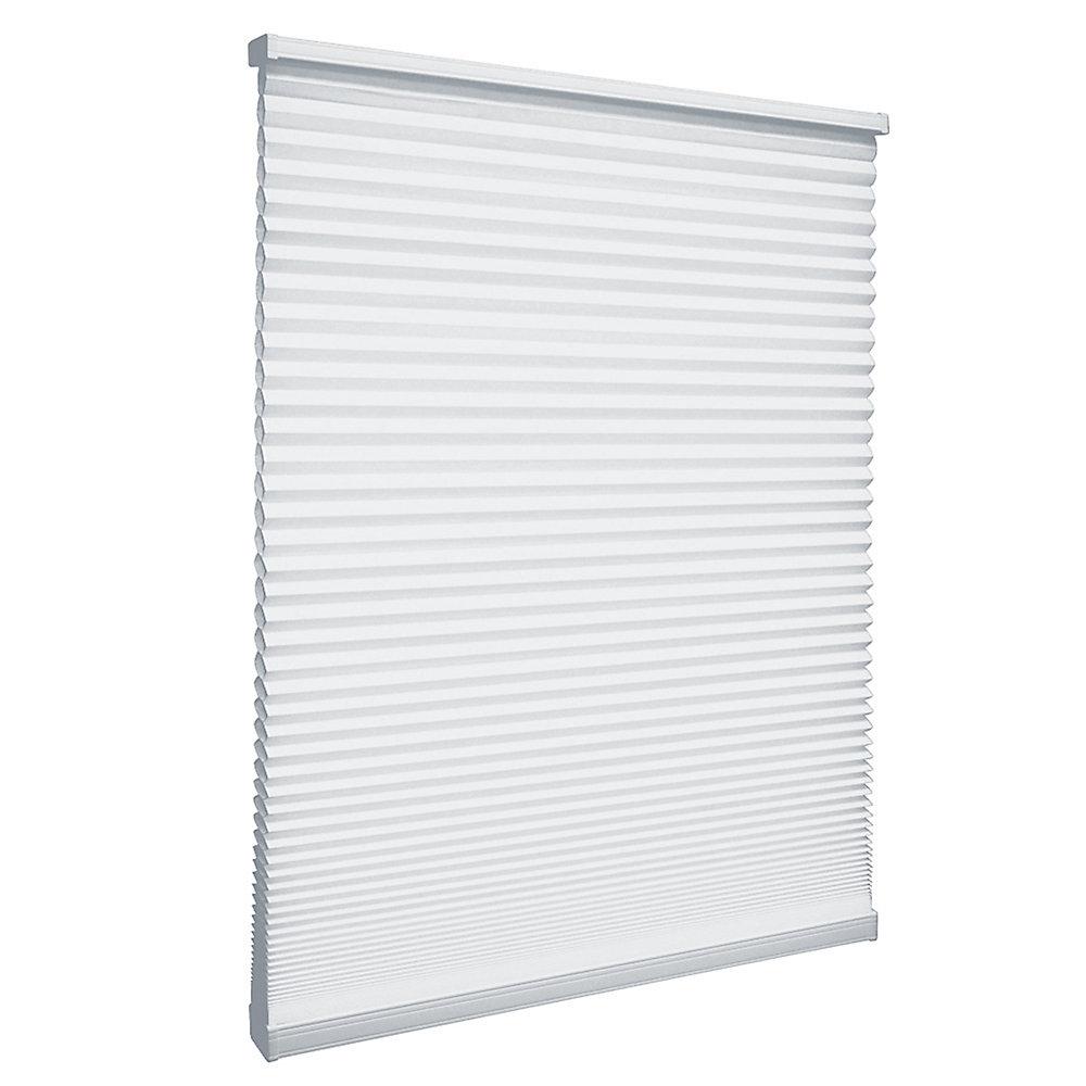 Store alvéolaire filtrant la lumière sans cordon Poudrerie 55.9cm x 162.6cm