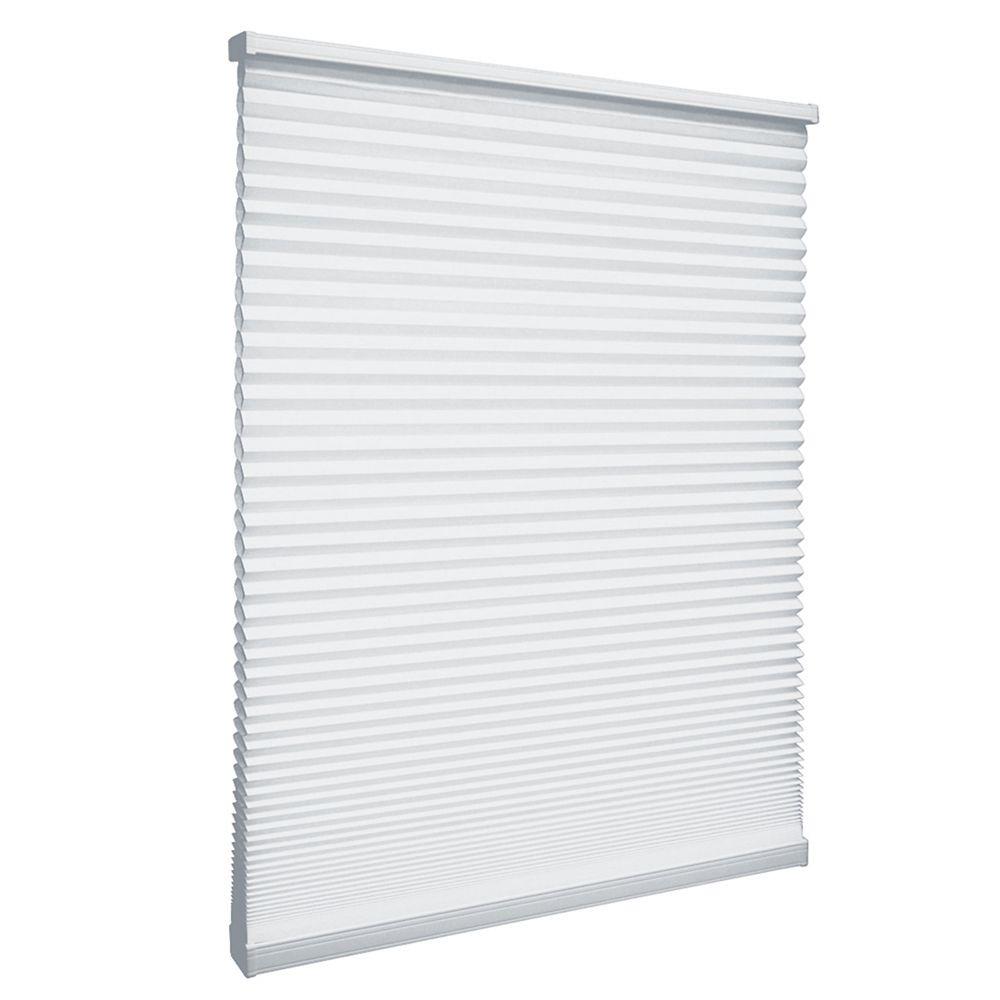 Store alvéolaire filtrant la lumière sans cordon Poudrerie 163.2cm x 162.6cm