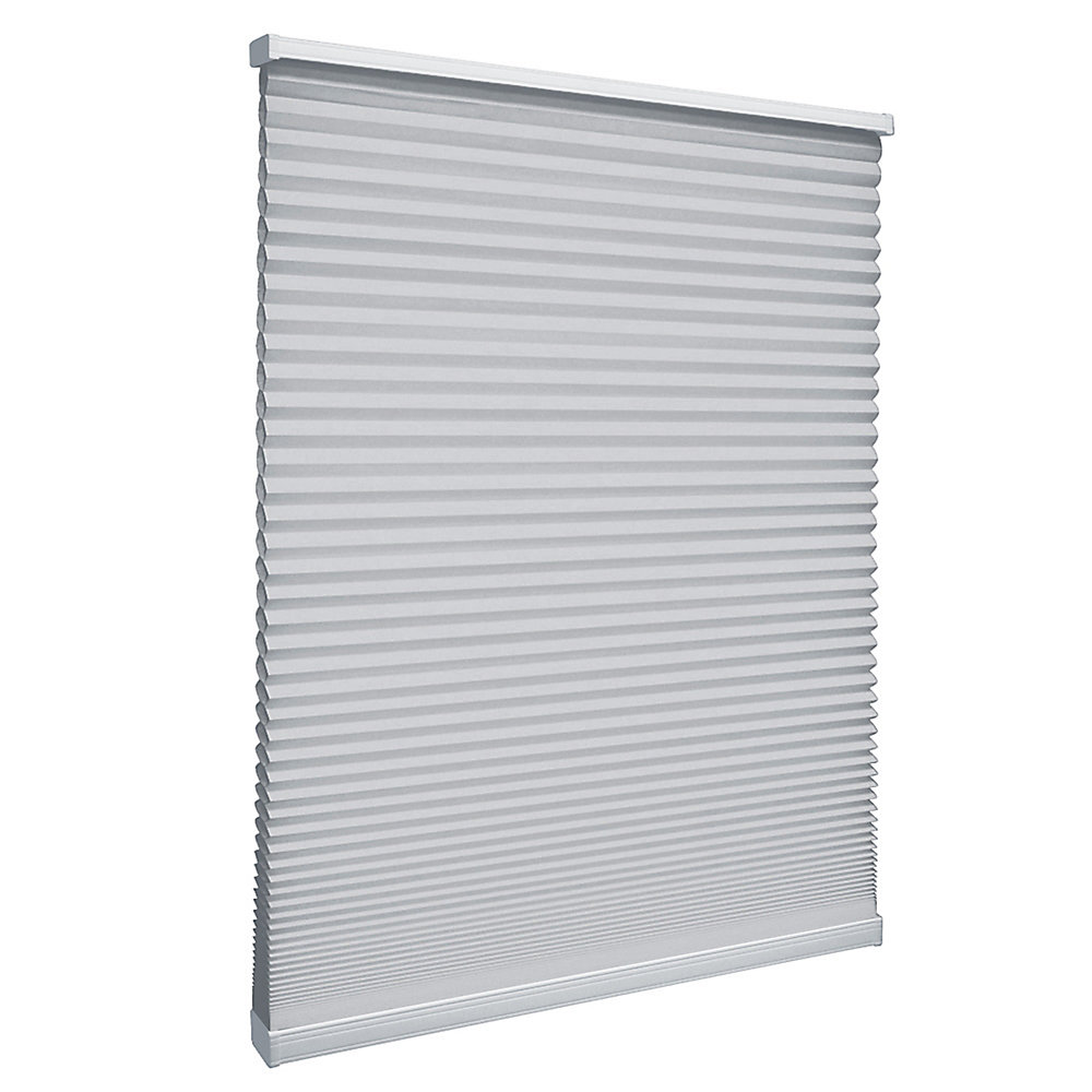 Store alvéolaire filtrant la lumière sans cordon Argent 123.8cm x 121.9cm