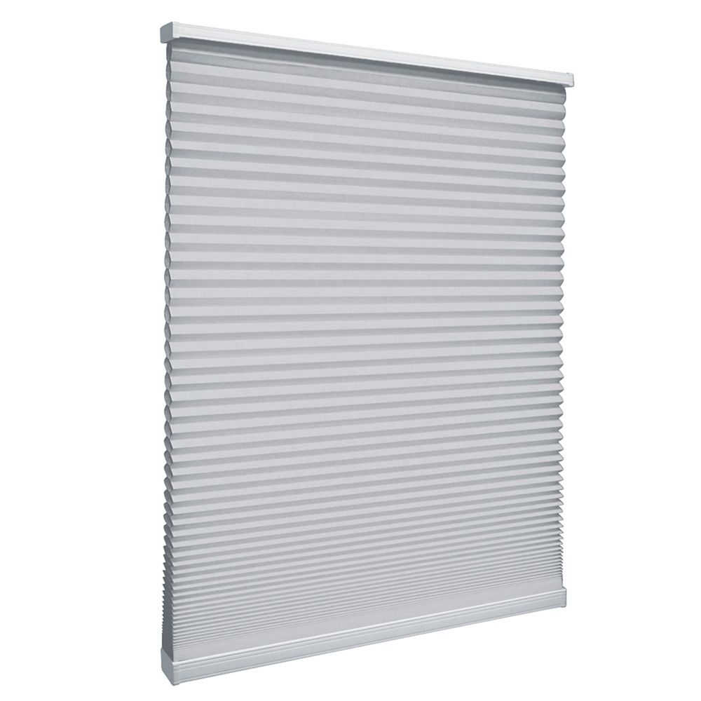 Cordless Light Filtering Cellular Shade Silver 20.75-inch x 72-inch