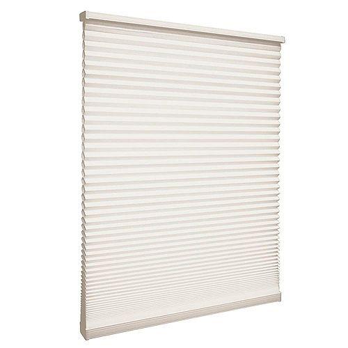 Home Decorators Collection Store alvéolaire filtrant la lumière sans cordon Naturel 31.1cm x 121.9cm