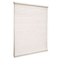 Home Decorators Collection Cordless Light Filtering Cellular Shade Natural 31.5-inch x 48-inch