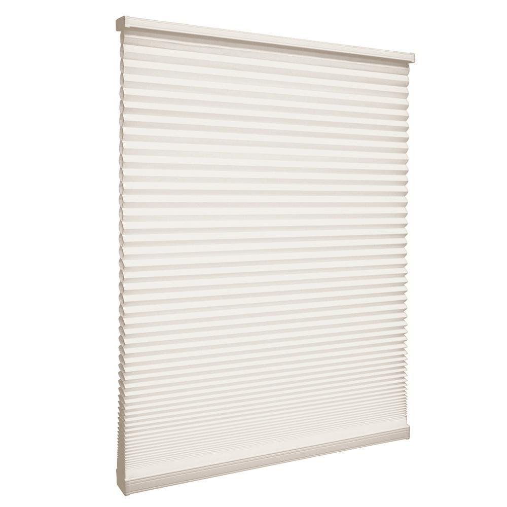Store alvéolaire filtrant la lumière sans cordon Naturel 82.6cm x 121.9cm