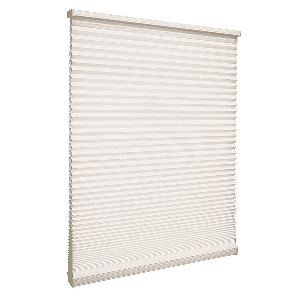 Home Decorators Collection Cordless Light Filtering Cellular Shade Natural 67.5-inch x 48-inch