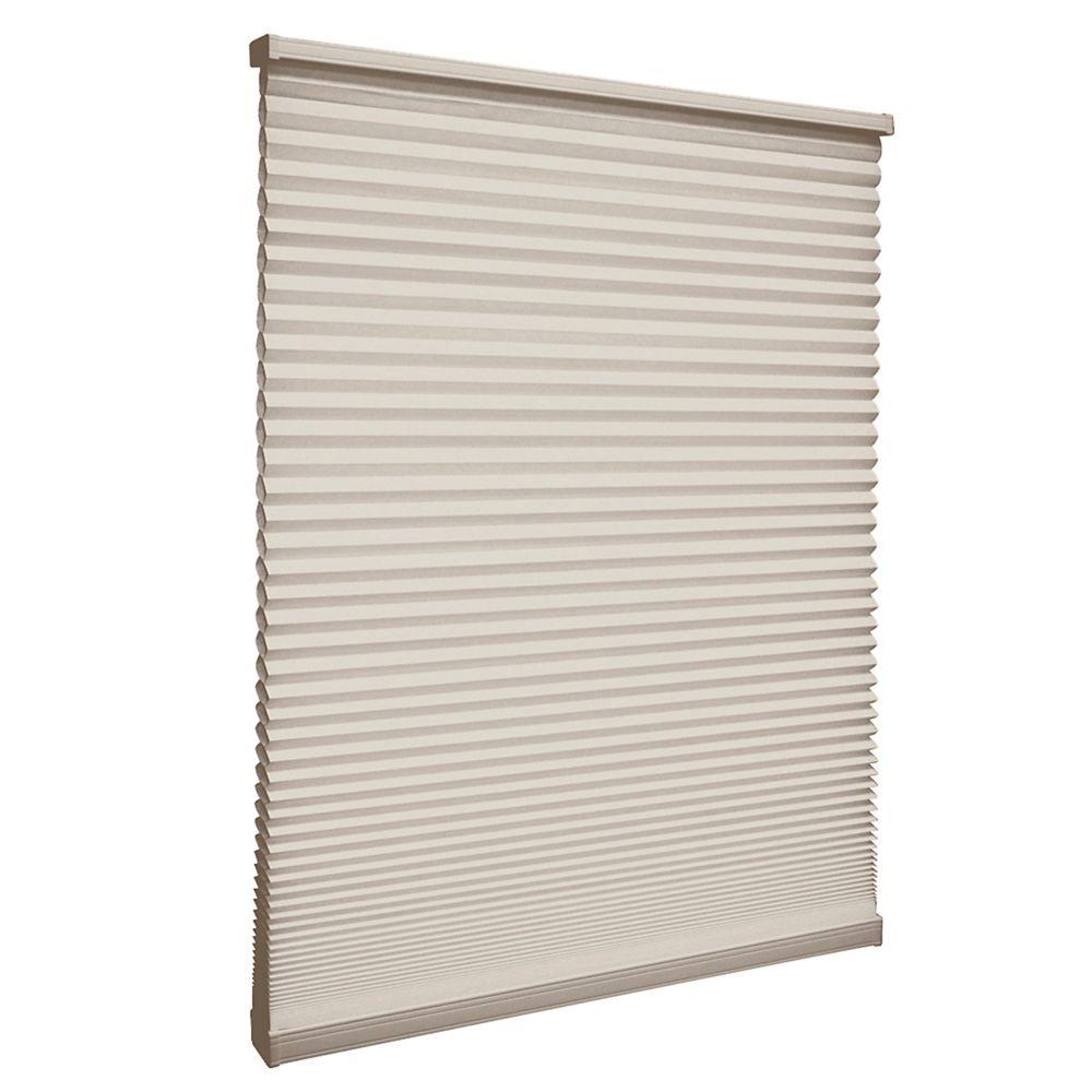 Store alvéolaire filtrant la lumière sans cordon Muscade 31.1cm x 121.9cm