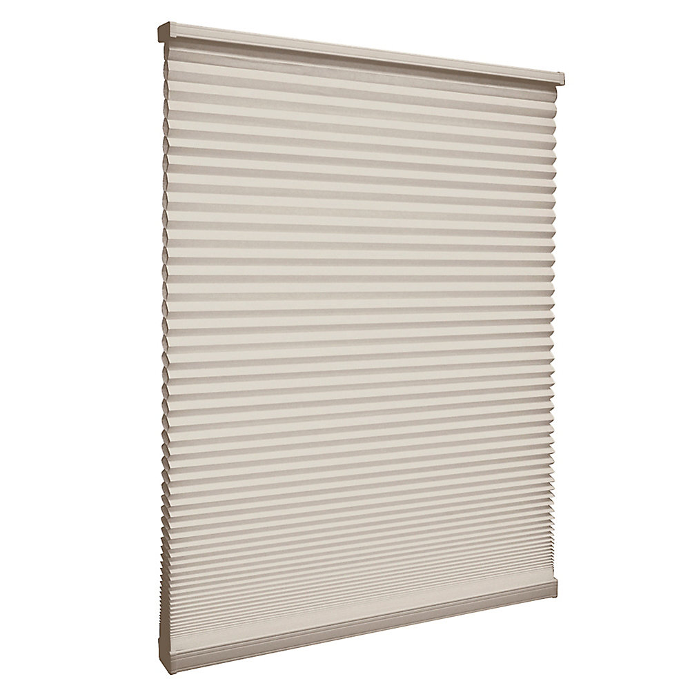 Store alvéolaire filtrant la lumière sans cordon Muscade 99.1cm x 182.9cm
