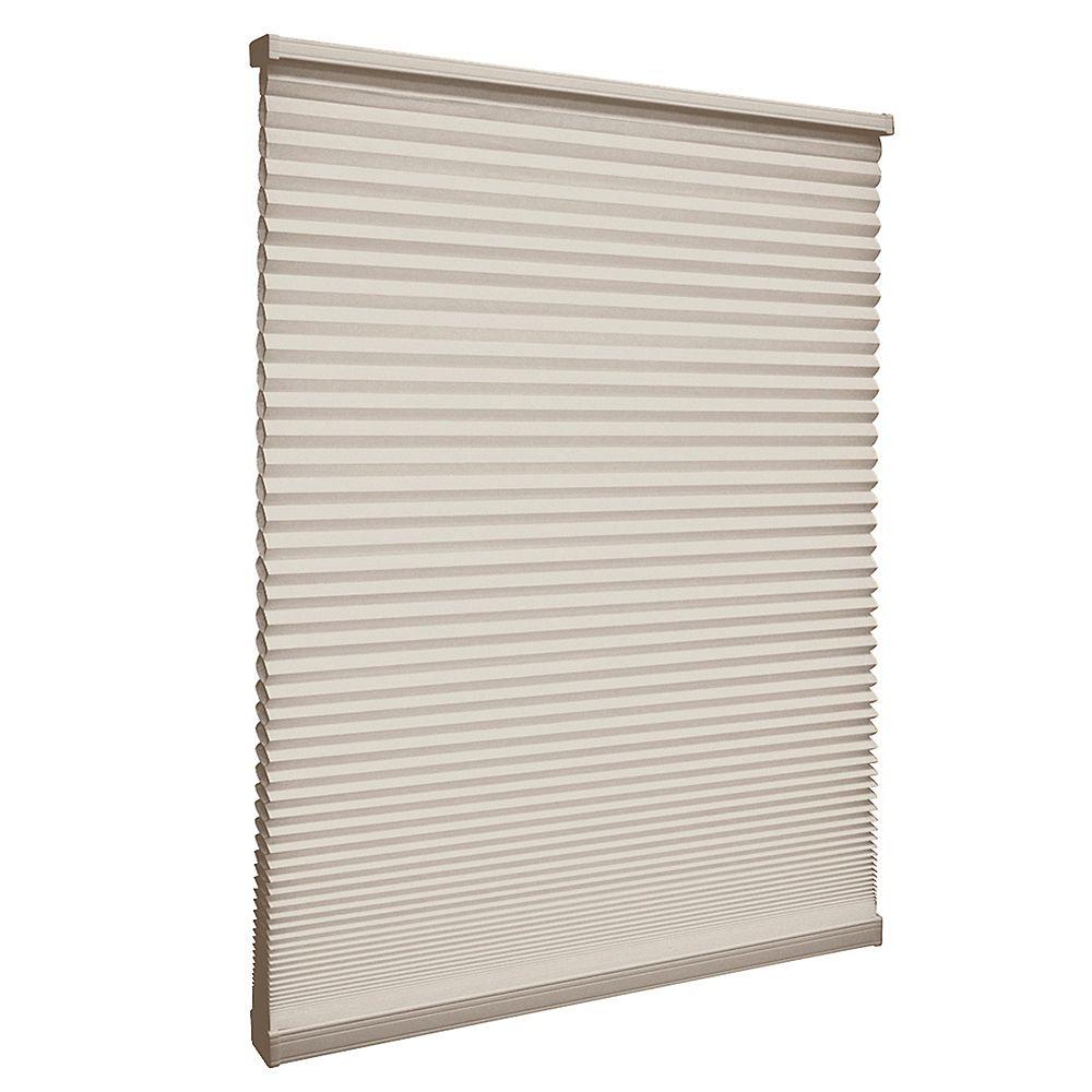 Home Decorators Collection Store alvéolaire filtrant la lumière sans cordon Muscade 178.4cm x 182.9cm