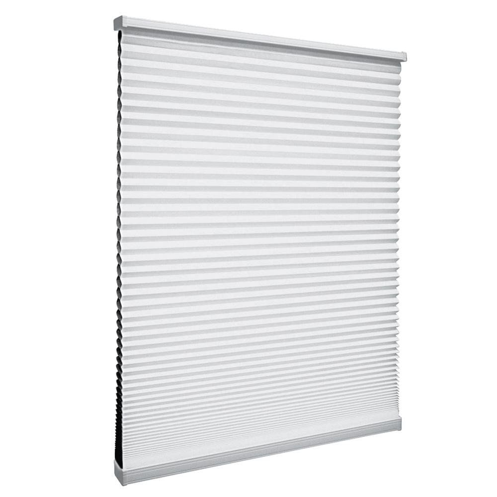 Cordless Blackout Cellular Shade Shadow White 20.75-inch x 64-inch