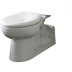 American Standard Yorkville Right Height Elongated Pressure-Assisted Toilet Bowl Only in White