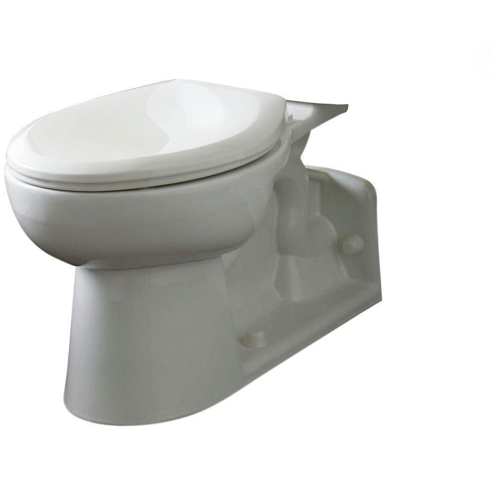 Yorkville Right Height Elongated Pressure-Assisted Toilet Bowl Only in White