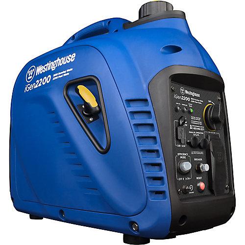 2,200/1,800-Watt Super Quiet Gas Powered Portable Inverter Generator
