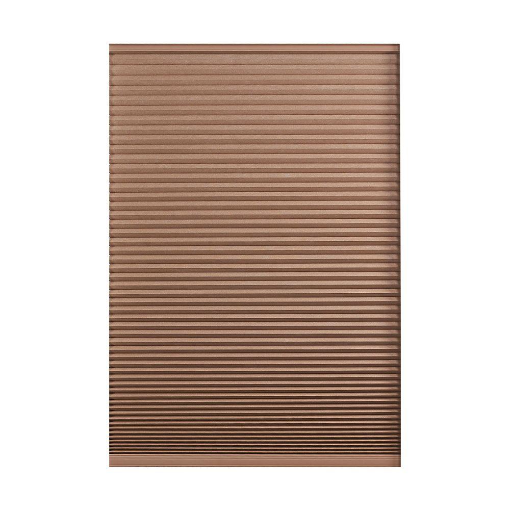 Home Decorators Collection Cordless Blackout Cellular Shade Dark Espresso 14-inch x 48-inch
