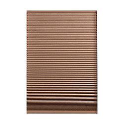 Home Decorators Collection Store alvéolaire obscurité totale sans cordon Expresso Foncé 121.9cm x 121.9cm