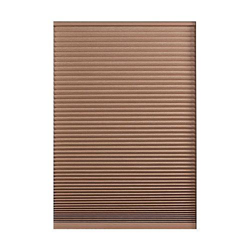 Home Decorators Collection Store alvéolaire obscurité totale sans cordon Expresso Foncé 151.8cm x 182.9cm