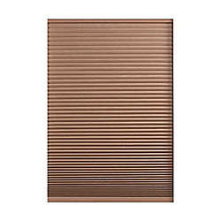 Home Decorators Collection Store alvéolaire obscurité totale sans cordon Expresso Foncé 166.4cm x 182.9cm