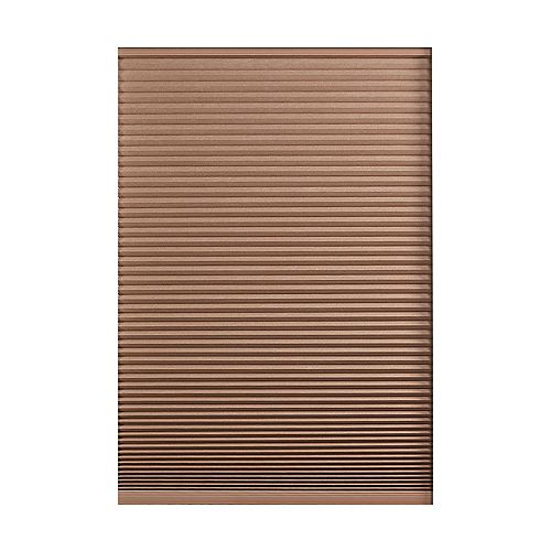 Home Decorators Collection Cordless Blackout Cellular Shade Dark Espresso 66-inch x 72-inch