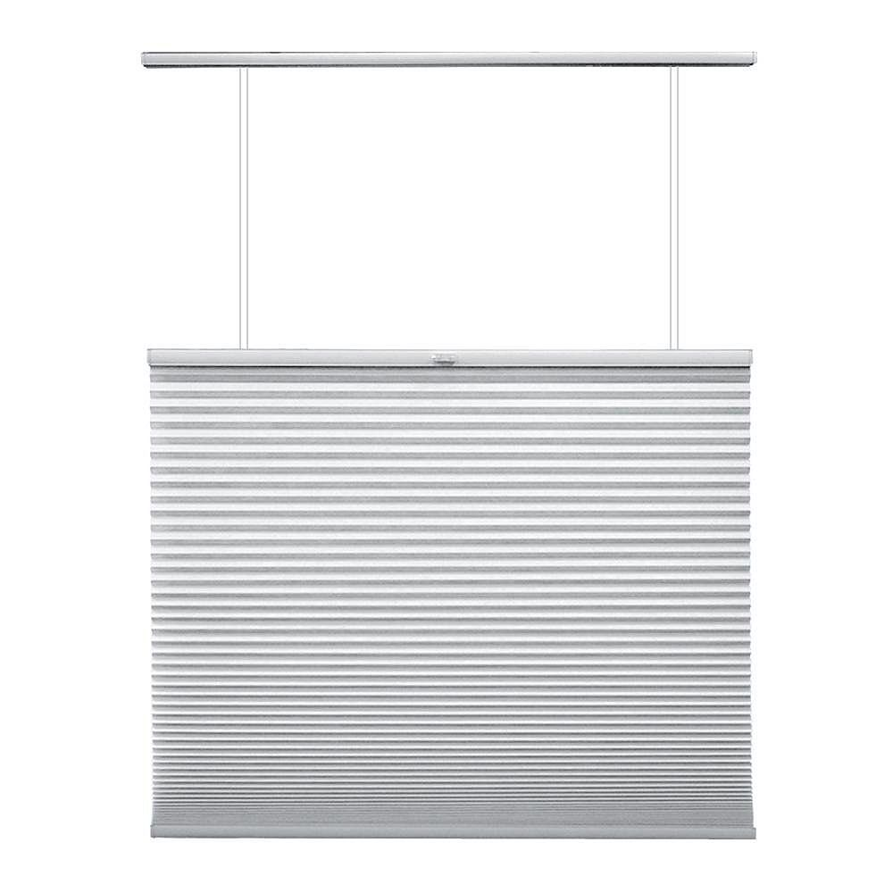 Home Decorators Collection Cordless Top Down/Bottom Up Cellular Shade Snow Drift 53.75-inch x 48-inch