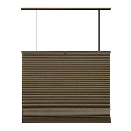 Home Decorators Collection Cordless Top Down/Bottom Up Cellular Shade Espresso 18.25-inch x 48-inch