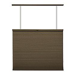 Home Decorators Collection Store alvéolaire ascendant/descendant sans cordon Expresso 50.8cm x 121.9cm