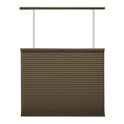 Home Decorators Collection Cordless Top Down/Bottom Up Cellular Shade Espresso 64.25-inch x 48-inch