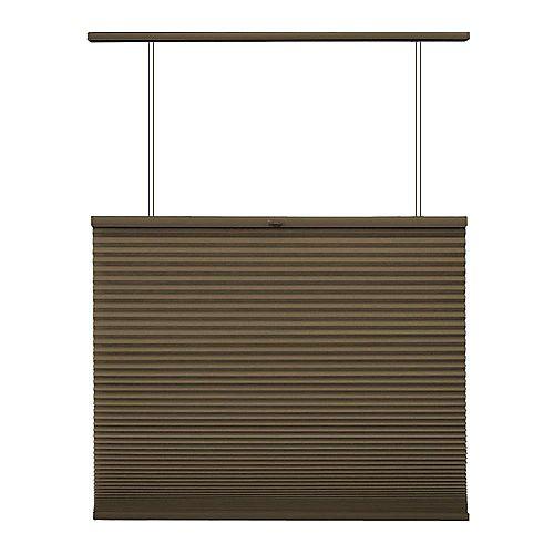 Home Decorators Collection Store alvéolaire ascendant/descendant sans cordon Expresso 45.1cm x 182.9cm