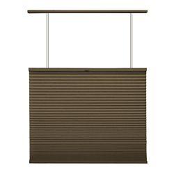 Home Decorators Collection Store alvéolaire ascendant/descendant sans cordon Expresso 140.3cm x 182.9cm