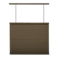 Home Decorators Collection Cordless Top Down/Bottom Up Cellular Shade Espresso 68-inch x 72-inch