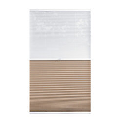 Home Decorators Collection Cordless Day/Night Cellular Shade Sheer/Sahara 50.75-inch x 48-inch