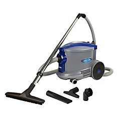 Commercial Canister Vacuum from Cana-Vac, 3.2 gal (12 L) Tank & Accessories
