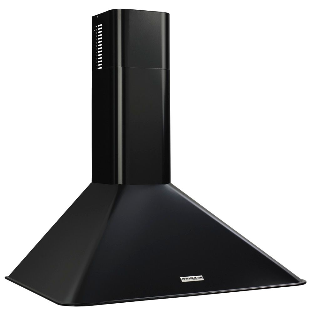 Broan Elite 30 inch 290 CFM Chimney style range hood in black